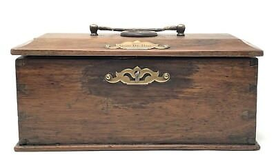Very Rare Antique Wooden Box to Transport Birds made 1900 s in The Netherlands