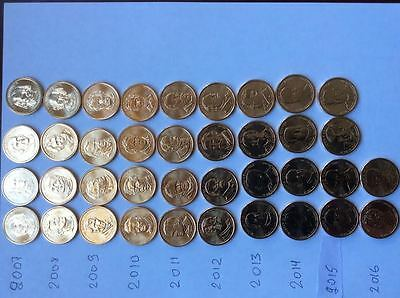 """2016 D Gerald Ford Presidential /""""Unopened/"""" Mint Dollar 25 Coin ROLL"""