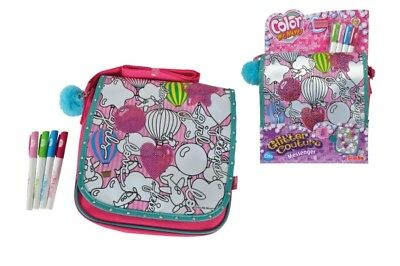 Color Me Mine Glitter Couture Messenger
