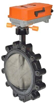 Belimo F6250L+PRBUP-3-T-250 2-Way 10-Inch Belimo Butterfly Valve With Actuator