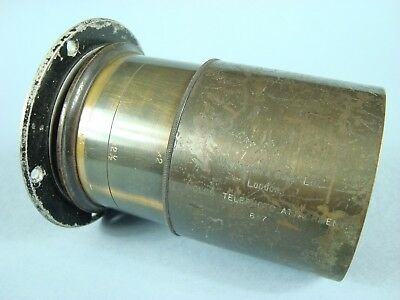 W.Watson & Sons ltd. Holos Telephoto attachment large format lens for parts RARE