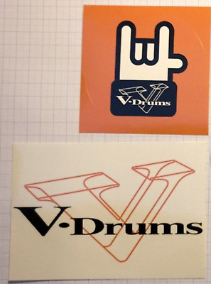 ☆ Original Roland V-Drums Bassdrum Aufkleber Sticker Music Instruments