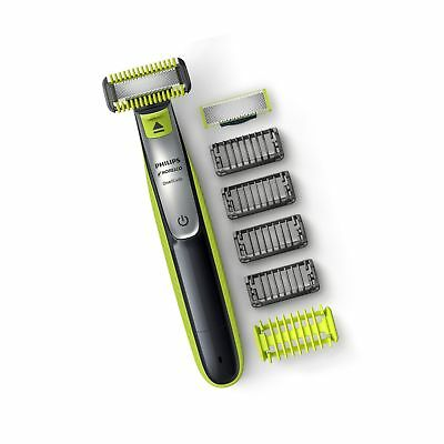 Philips Norelco OneBlade Face +Body hybrid electric trimmer and shaver QP2630/70