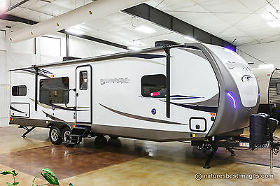 New 2018 304RKDS Rear Kitchen Travel Trailer Bedroom Slide Out Never Used Camper