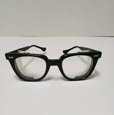 Vintage NORTON SAFETY GLASSES-Movable Side Safety Shields Z87