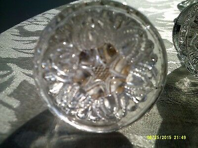 Antique Glass Drawer Knobs / Pulls (Set of 6)