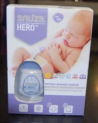 BRAND NEW Snuza Hero Se Cordless Portable Baby Movement Monitor SAFE SLEEP