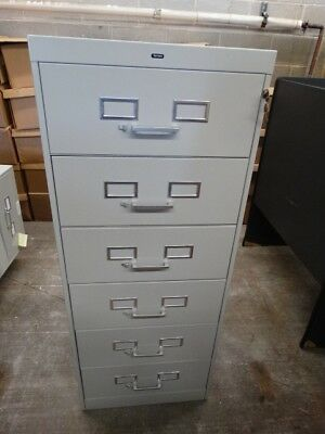 Lot#0209-2: 6 Drawer Filing Cabinet-Used