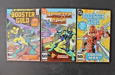 Booster Gold 1, 2 & 3   1986  Vf/nm 9.0