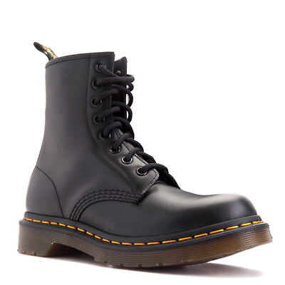 Dr. Martens Women's 1460 8 Eyelet Smooth Black - 11821006