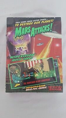 Mars Attacks Widevision 1996 Topps Trading Cards Box - Factory sealed