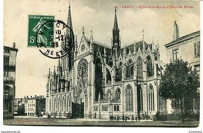 CPA - Carte postale-  France -  Nancy - Place des Dames - 1908 (CP876)