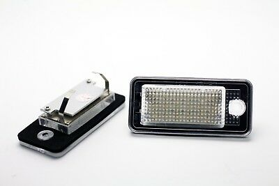 2x LED LICENSE NUMBER PLATE LIGHT AUDI A3 S3 8P1 CANBUS