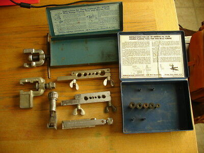 Lot of Imperial Flaring Tools, Cutters, Boxes in Assorted Sizes