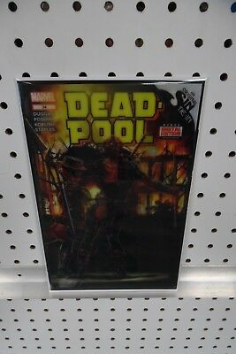 DEADPOOL #34 3D BROOKS Lenticular 1:52 Variant VF/NM Marvel Comics, 2017