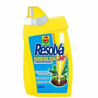 Herbicida total concentrado Resolva 24h 500 ml