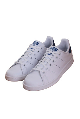 Stan Smith J White / Blue S74778 Kids Grade School Adidas