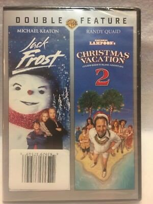 dvd jack frost national lampoons christmas vacation 2 new sealed - National Lampoons Christmas Vacation Dvd