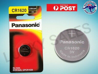 Panasonic Cr1620 3V Lithium Button Coin Battery New/genuine 1/2/5/10 Ecr1620