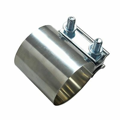 """T304 2"""" Torca EasySeal Stainless Butt Joint Band Exhaust Clamp Genuine"""