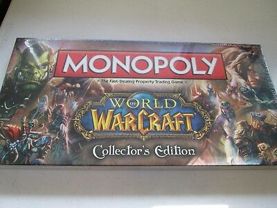 World of Warcraft Monopoly Collector's Edition NEW in plastic