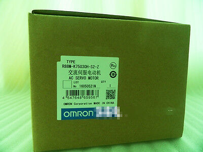 1PC New OMRON servo motor R88M-K75030H-BS2-Z
