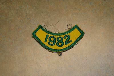 Vintage 1982 Boy Scouts Canada Bsa '1982' Shoulder Patch