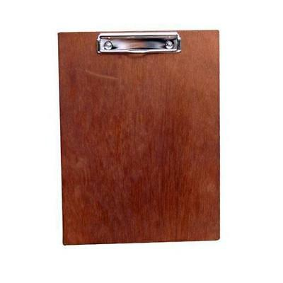 4x Menu Clip Board Timber Wooden Cafe Restaurant Bar Specials Drinks Menus