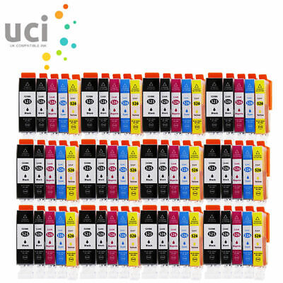Lot Ink Cartridges For Canon Pixma MG5150 MG8250 MG5250 MG5350 MG6150 MX715