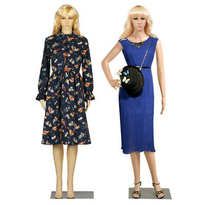 Full Body Dummy Dressmaker Mannequin Female Shop Window Showcase Display