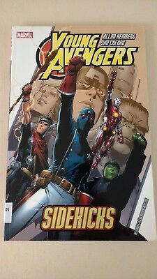 Young Avengers Sidekick Ex-Library Book TPB Graphic Novel READING COPY ONLY