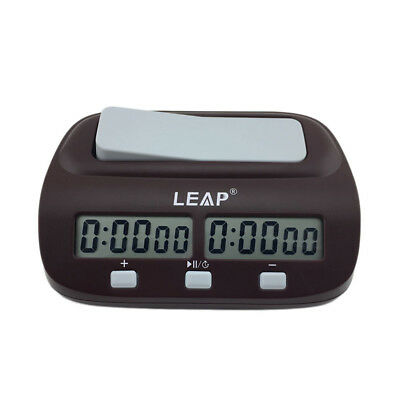Digital Table/Desk/Bedside Timer/Clock Digital Chess Clock 2 LEDs Screen/Light
