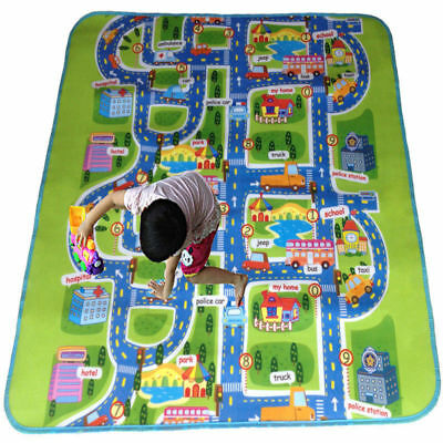 Giant Baby Mat Kids Crawling Educational Play Soft Foam Baby Carpet Fun Road Pad
