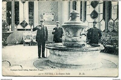 CPA - Carte postale -France -  Vittel - La Source Salée- 1922 (CP887)