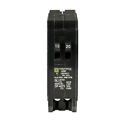 EASY TO INSTALL Homeline HOMT1520CP 15/20 Amp One-pole Tandem Circuit Breaker