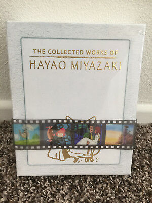 The Collected Works of Hayao Miyazaki 11 Movies Exclusive Box Set (Blu-Ray) NEW