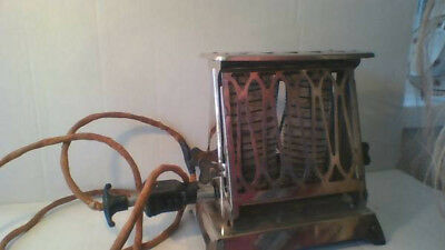 Antique Toaster Orig. Working Cond. Westinghouse Turnover Toaster