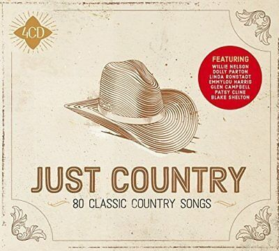 Just Country 4 Cd Set Various Artists 2018