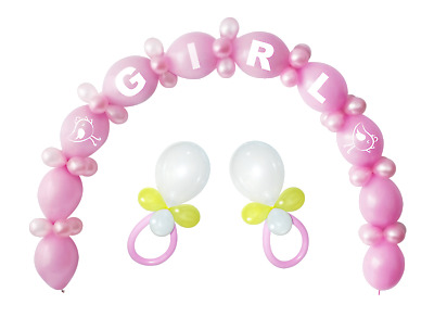 Baby Shower Balloon Arch Kit Gender Reveal Girl Boy Party Latex Celebrate Party