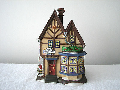 Dept 56 Manchester Square Lydby Trunk & Sachel Shop #58301 Dickens Retired
