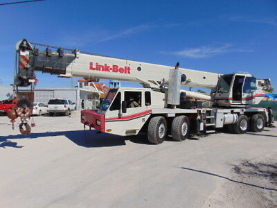 2007 Link Belt Htc-8690 Telescopic Truck Crane - 90 Tons - 140' Power Boom -