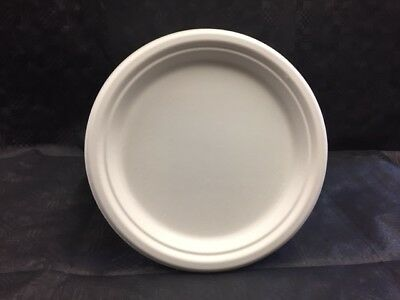 "Biodegradable & Compostable Bagasse Plates 9"" Eco Friendly **choose qty**"
