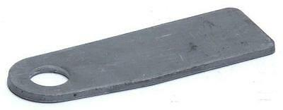 Trailer Parts - Antiluce Eye Plate: 22mm Hole - weld-on - Tailgate Fixing