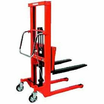 "NEW! Hydraulic Stacker Step Type-1322 Lb. Capacity-7.2"" Lift!!"