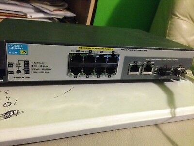 HP 2520-8-PoE+ Switch