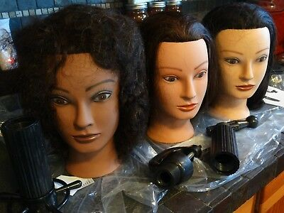 Salonist Mannequin Styling Heads 100% Human Hair