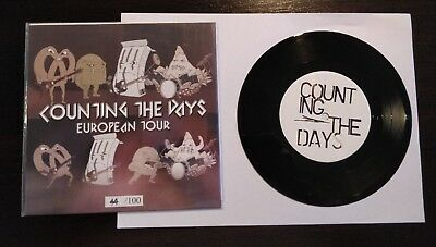 "Counting the Days Hollywood split Euro Press vinyl 7 "" handnumbered"