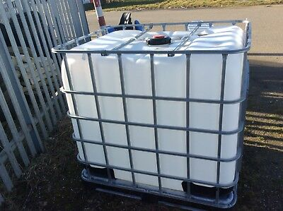1000 Litre Cotainer  Collection Only Essex/ Suffolk Border Post Code Co91 Sa