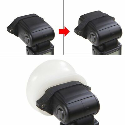 Selens Magnetic Flash Modifier Sphere Diffuser Bounce With Rubber Band Kit
