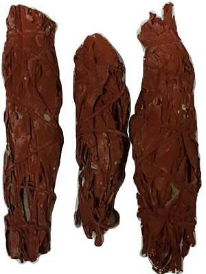 Dragon's Blood and Sage Smudge Sticks  3-pack-Ritual Altar Use- Last for Months